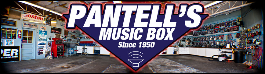 Pantell's Auto Audio Stereo and Alarm